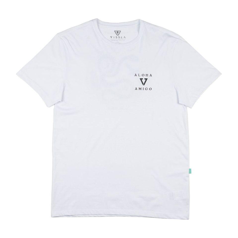 Camiseta Vissla Silk Manga Curta Desert Point