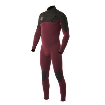 Wetsuit-3-2-Burgundy--BUR--Frente